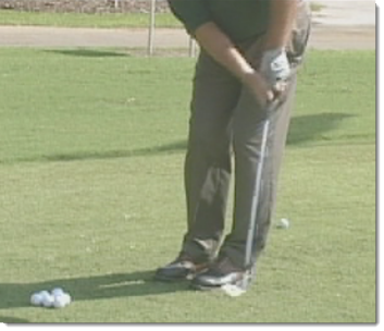 Golf Short Game Stance